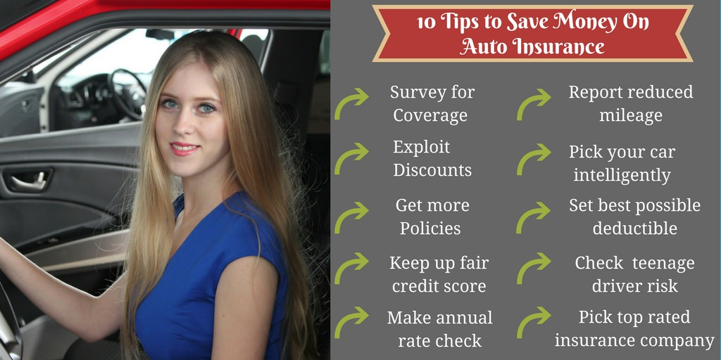 10 Tips to Save Money on Your Auto Insurance