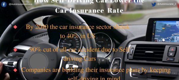 how self driving car lowers the auto insurance
