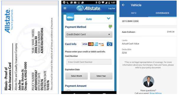 allstate auto insurance app