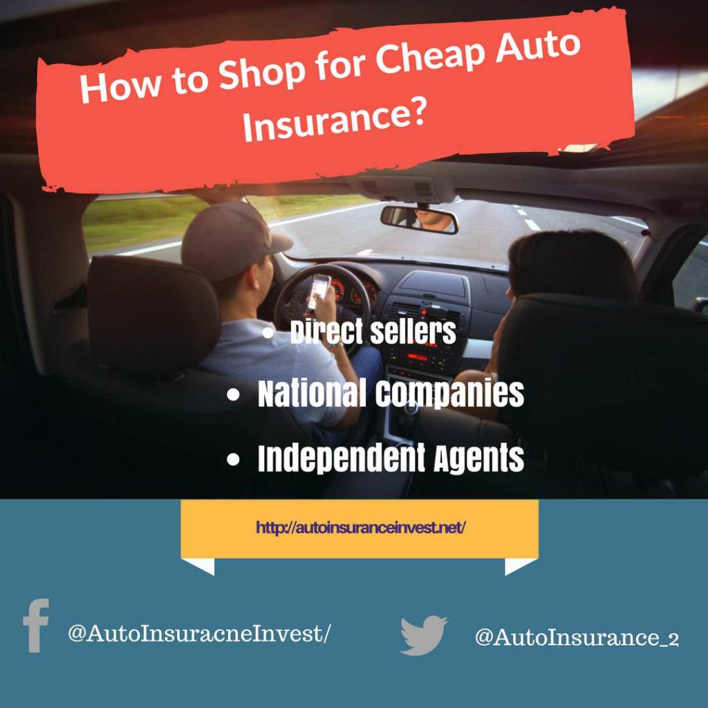 how to shop for cheap auto insurance