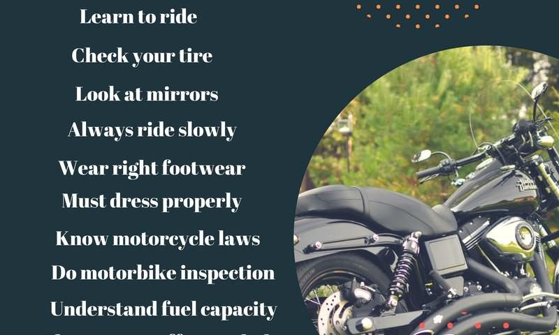 motorcycle riding tips for first time riders
