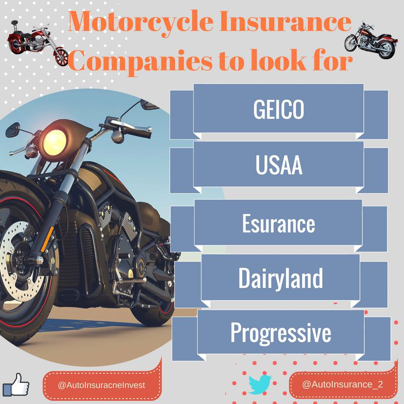 best motorcycle insurance companies 2018 to look for