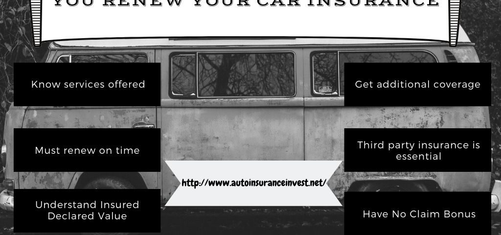Review these factors before you renew your car insurance